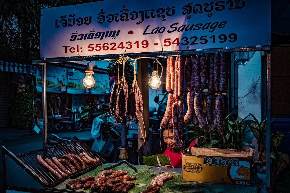Evening Food Market