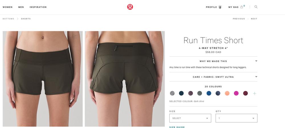 Why did I buy these Lululemon Shorts?