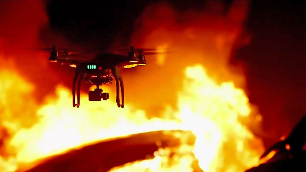 Could drones be the future of emergency response? (Image source: emergency-services.ie)