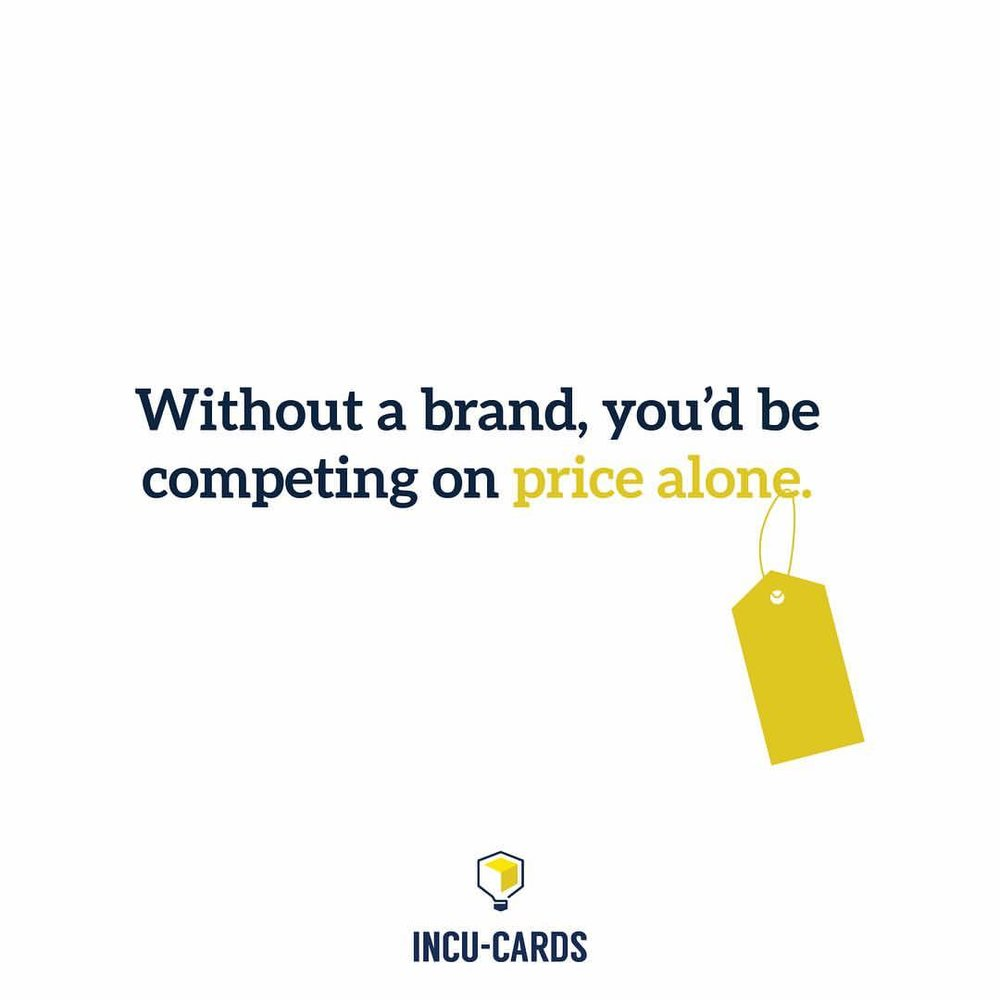 The importance of branding — in one quote.
