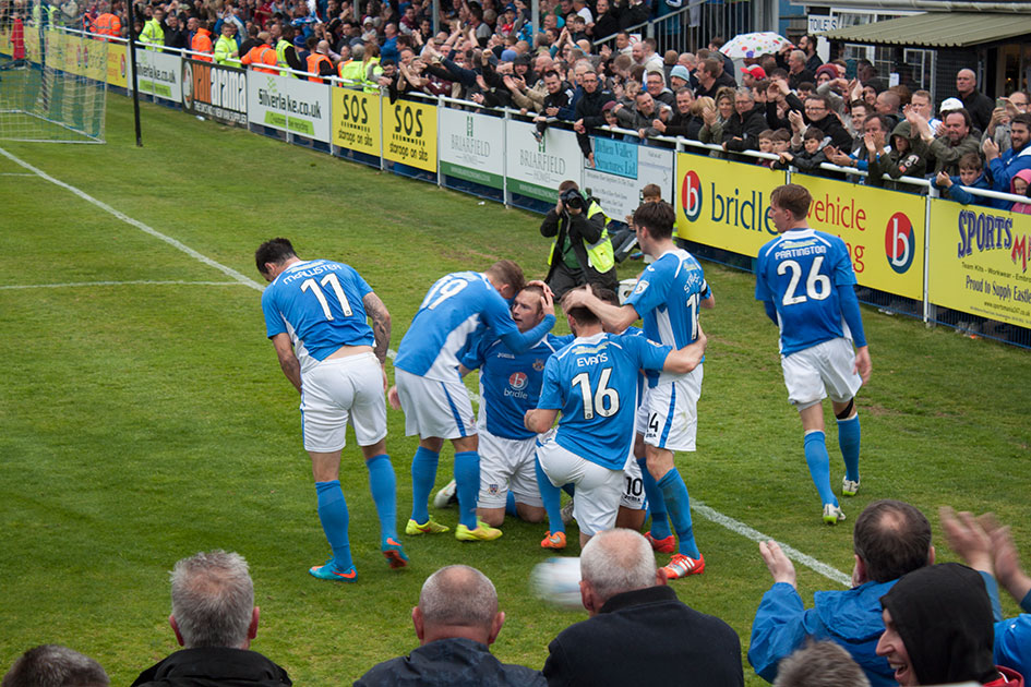 Eastleigh in the Vanarama National League