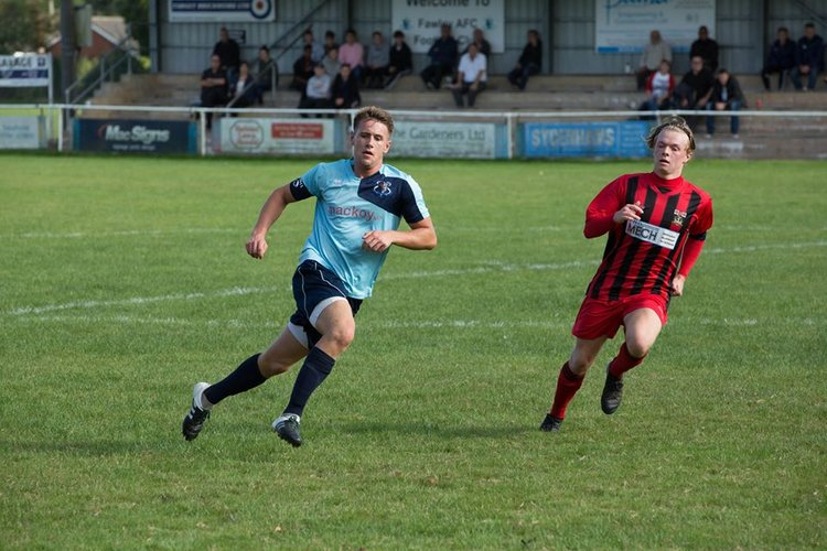 Lewis Ross in action in the home fixture earlier in the season, click here for the gallery
