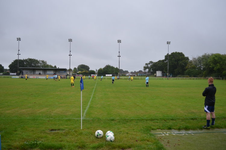 Fawley AFC reserves in action against Stoneham Reserves