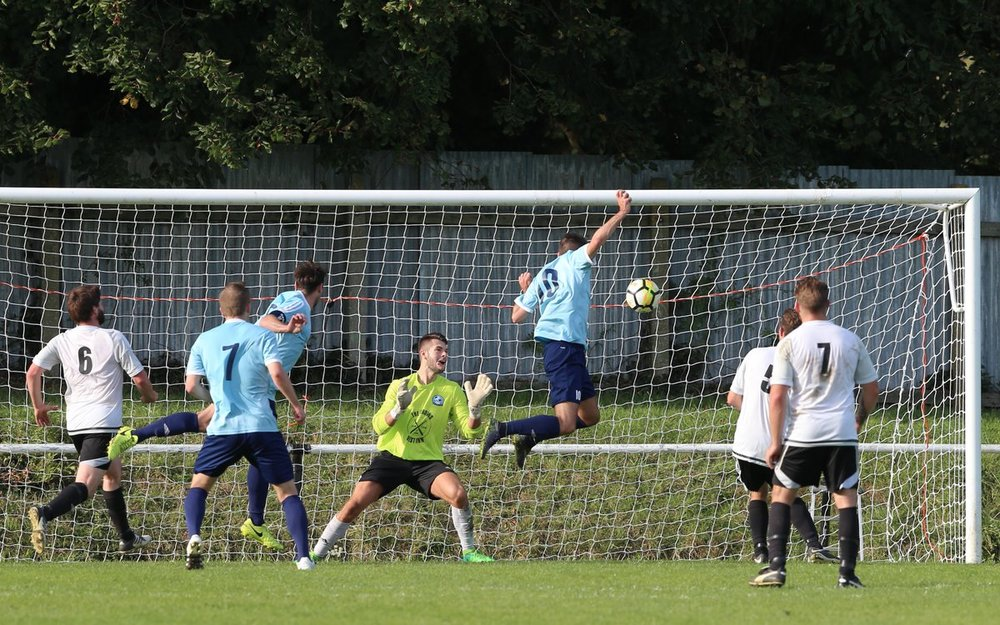 Declan Hartigan leaps to head Fawley back in the game