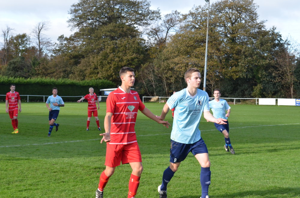 Dylan Gain in action yesterday