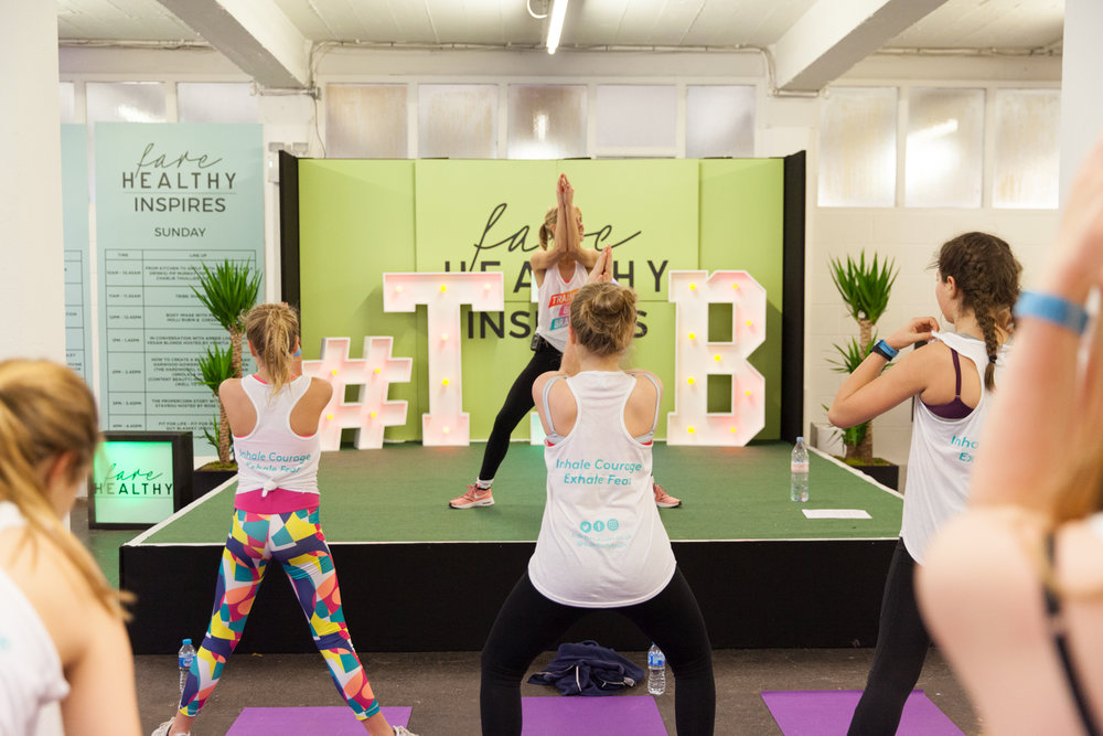 HIIT class with Wendy MacLennan