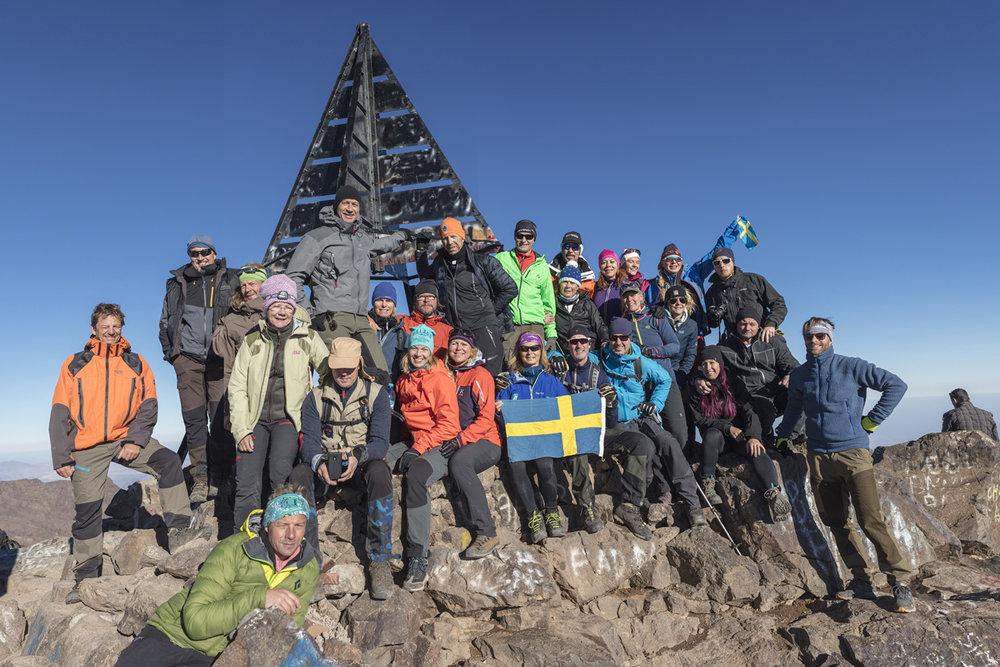 4,167m. Så högt är Nordafrikas högsta berg, Djebl Toubkal som ligger i Marocko. I september guidade jag två sköna grupper till toppen. Det finns fortfarande plats i september 2017 om du vill hänga med.
