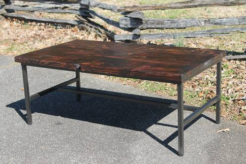 Scorched Barnwood Coffee Table Pumpkinvine Creek