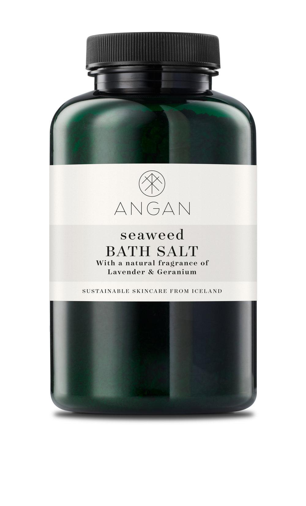DETOXIFYING     BATH SALT with seaweed