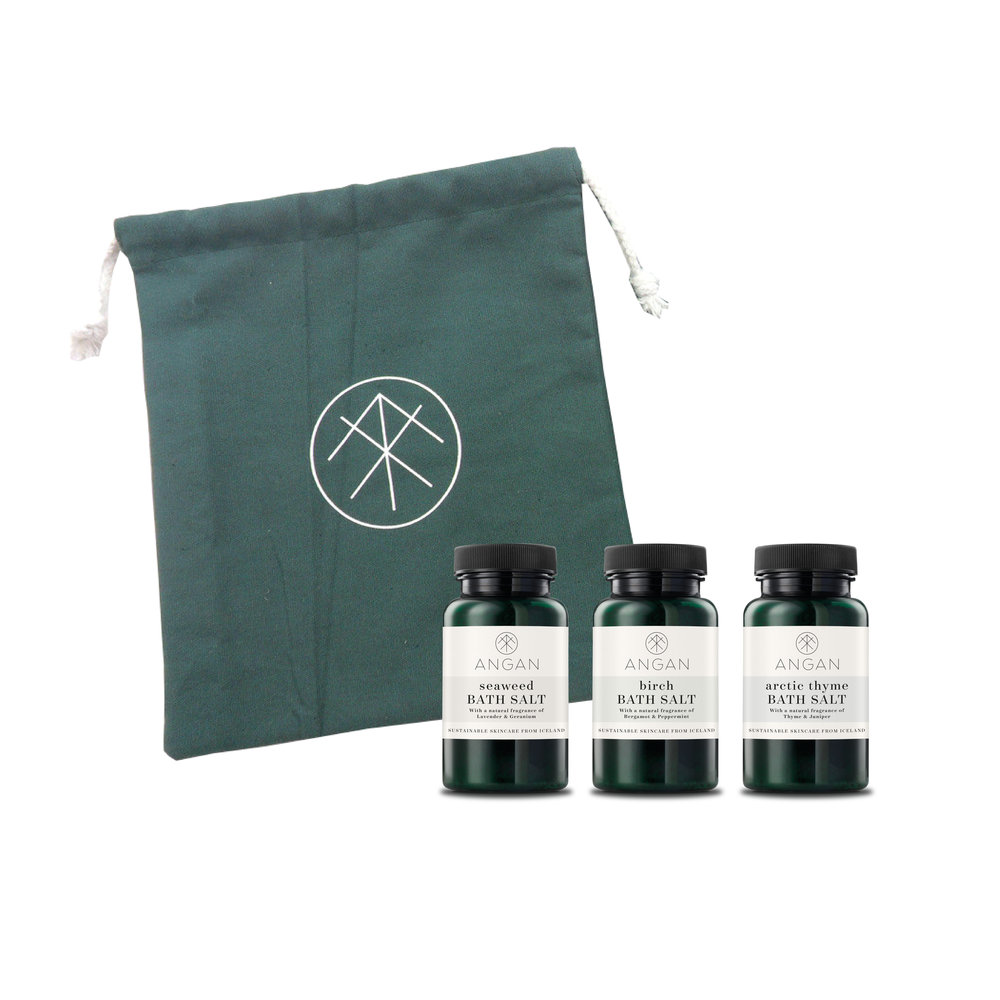 3 PACK - BATH SALTS                           $ 34.oo
