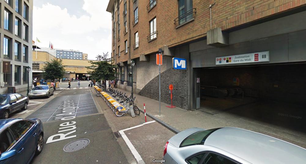 Station nr. 51 Zuid Fonsny (Engelandstraat)
