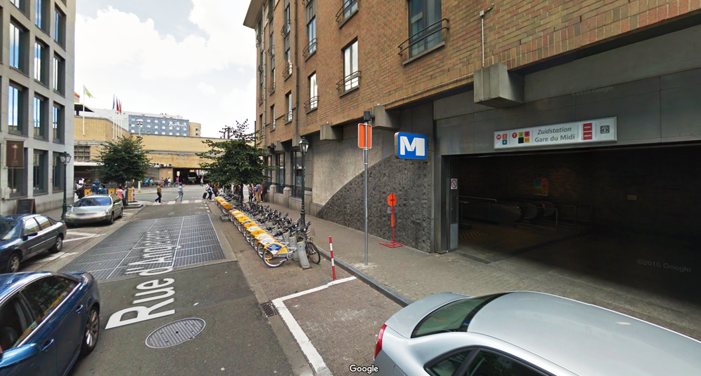 Station n° 51 Midi Fonsny (Rue d'Angleterre)