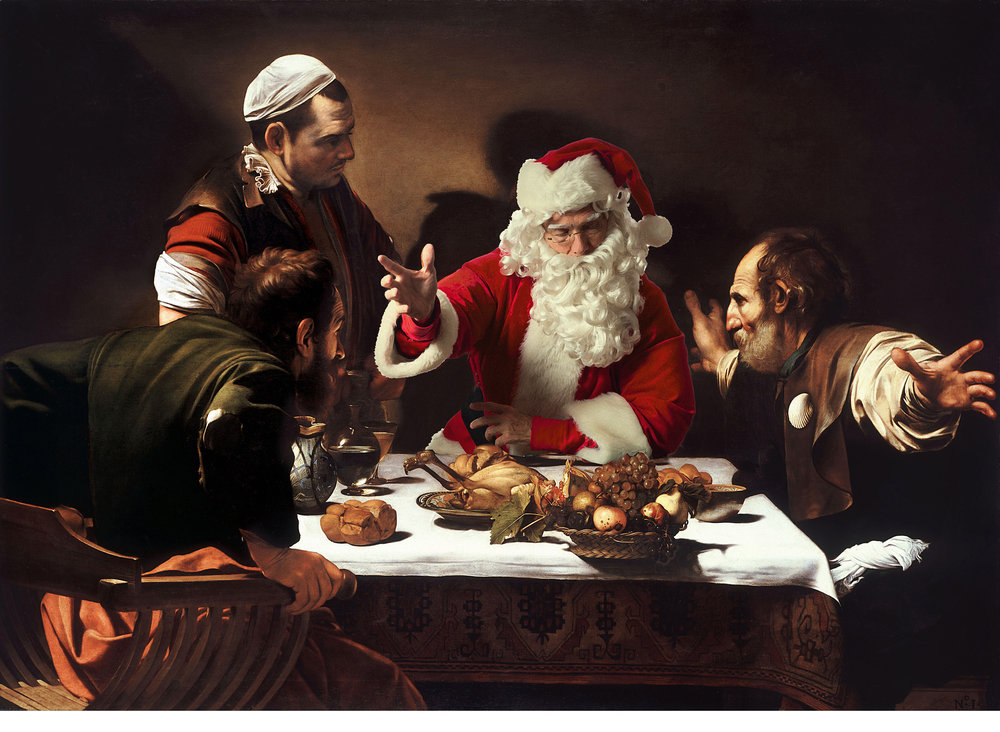 Caravaggio - Supper at Emmaus
