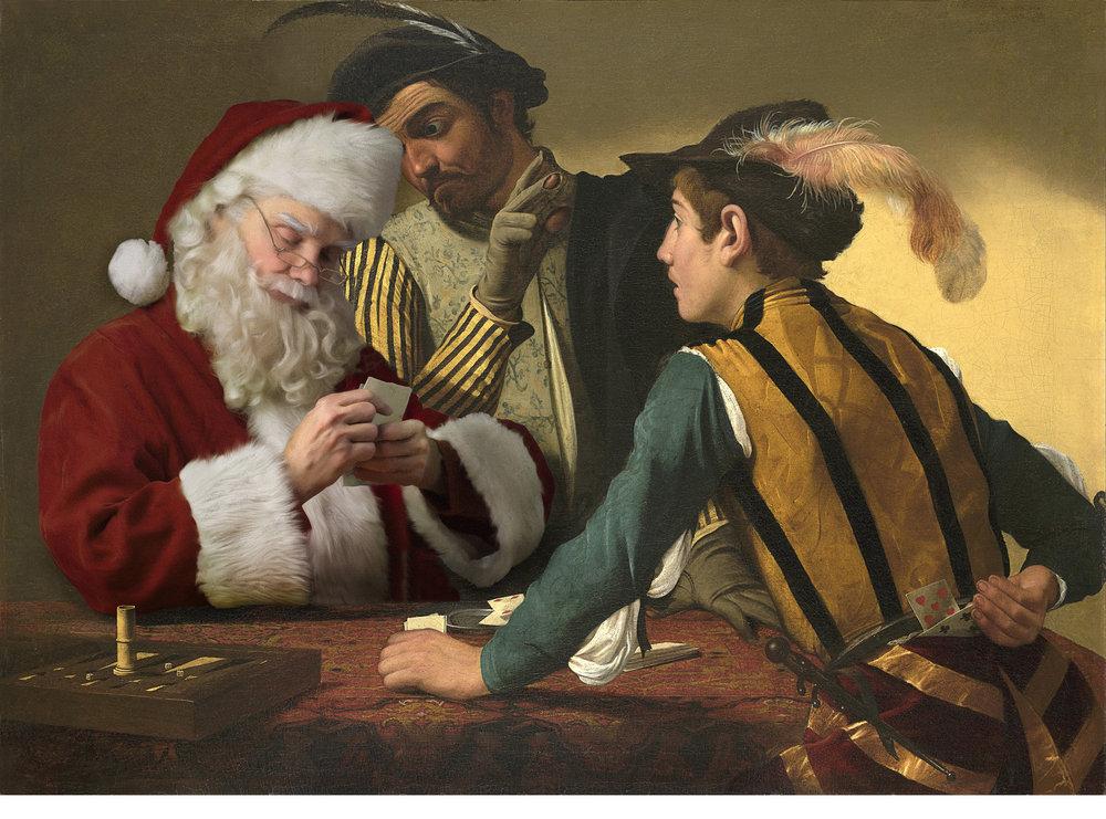 Caravaggio - The Cardsharps