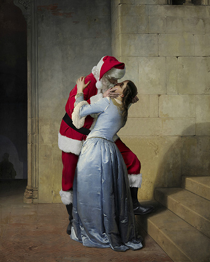 The Kiss - 1859 Pinacoteca di Brera, Milan