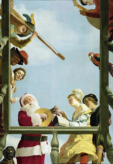 Musical Group on a Balcony - 1622 The J. Paul Getty Museum