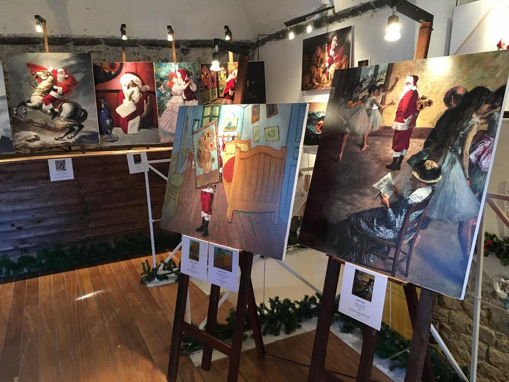 Camogli Castle   Camogli, Italy Dec 1, 2017 – Jan 8, 2018 Solo show of 23 prints