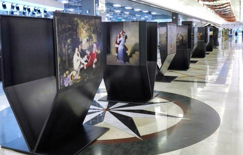 Centro Commerciale Aprilla   Rome, Italy Dec 1, 2017 – Jan 8, 2018 Solo show of 25 prints