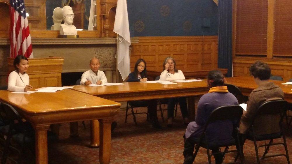 City Council Meeting simulation