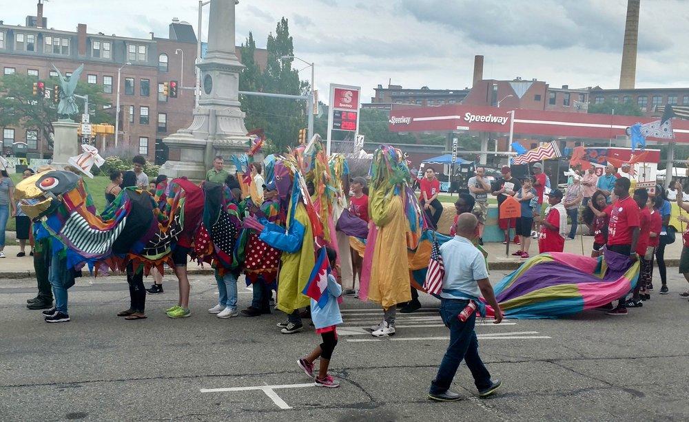 2017 Folk Festival Parade
