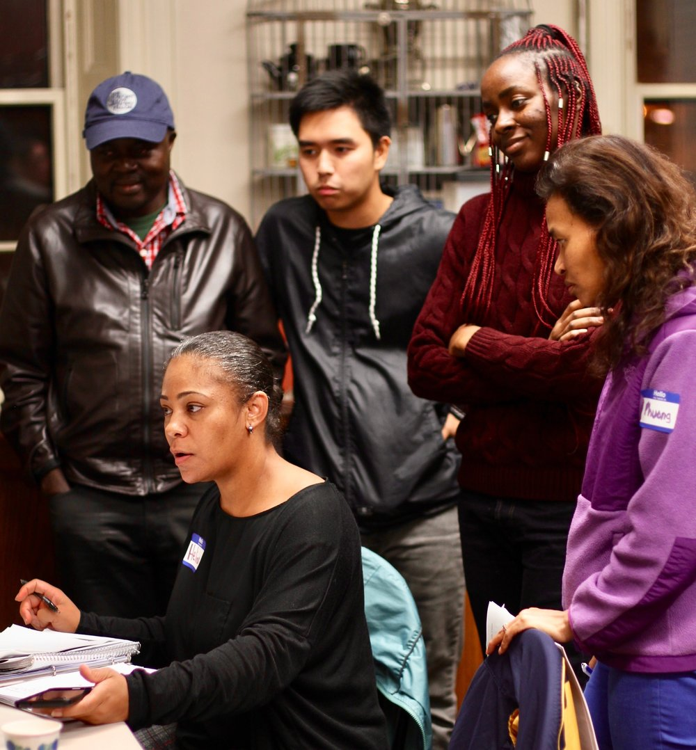 Empower ,  a 9-week course that trains grassroots community activists to lead change in Lowell.