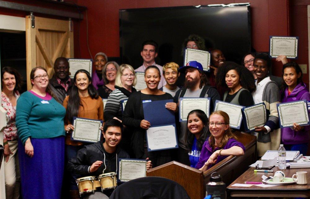 Fall 2017 Empower graduates