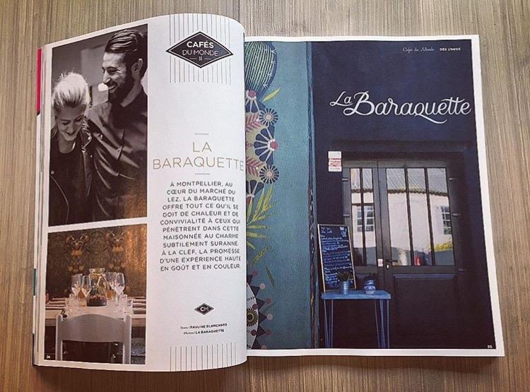Le magazine  Simple Things  nous fait l'honneur de se pencher sur l'univers de La Baraquette