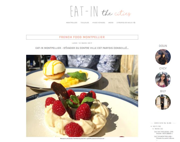 Eat In Montpellier  à posé fourchettes et couteaux à La Baraquette...et le résultat est juste wow