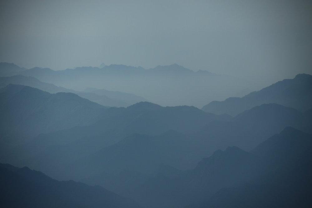 Wutai region from North Peak