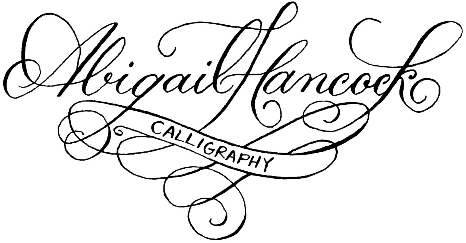 Abigail Hancock Calligraphy - Brooklyn, New York Calligrapher