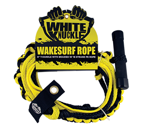 White Knuckle Wakesurf Rope with T-Handle