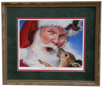 Linda Barnicott Christmas print