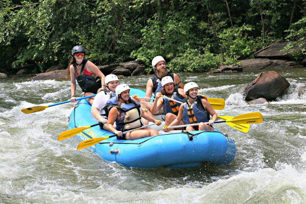 Tech Rafting, August 2017