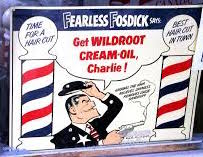 Fearless Fosdick sells product!