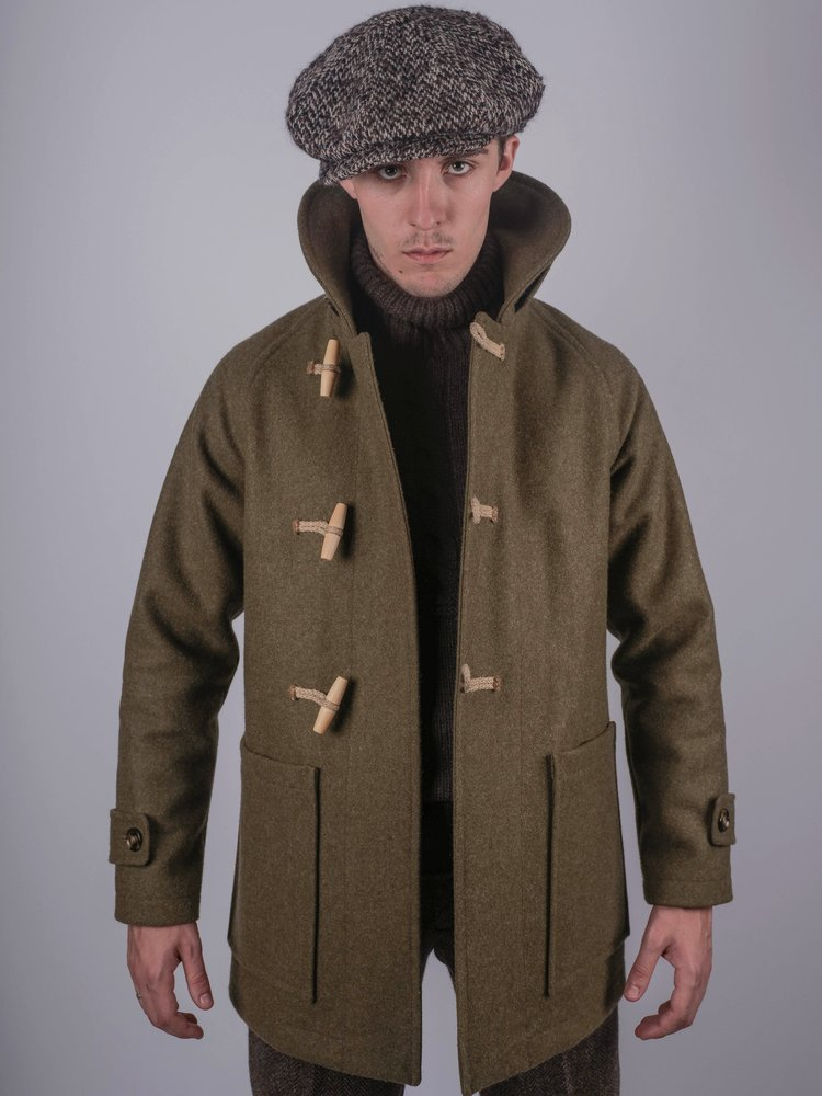 Mallory Duffle Coat - Forest Green ... 89f82a049942