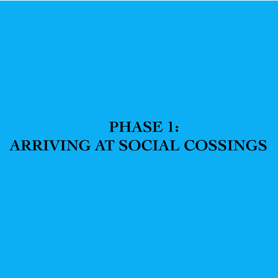 Arriving At Social Crossings
