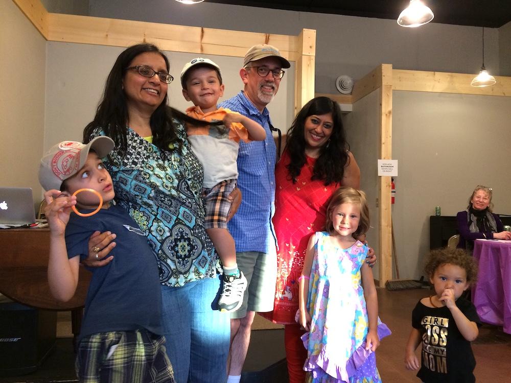 Event Sandhya Brian Purvi & Kids.JPG
