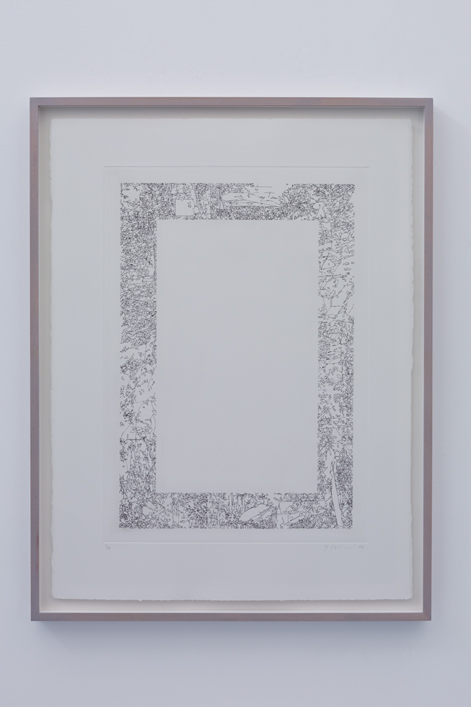 colognola 001 - edition of 7,  57cm x 76cm, etch print on 300gsm somerset satin, framed - £365