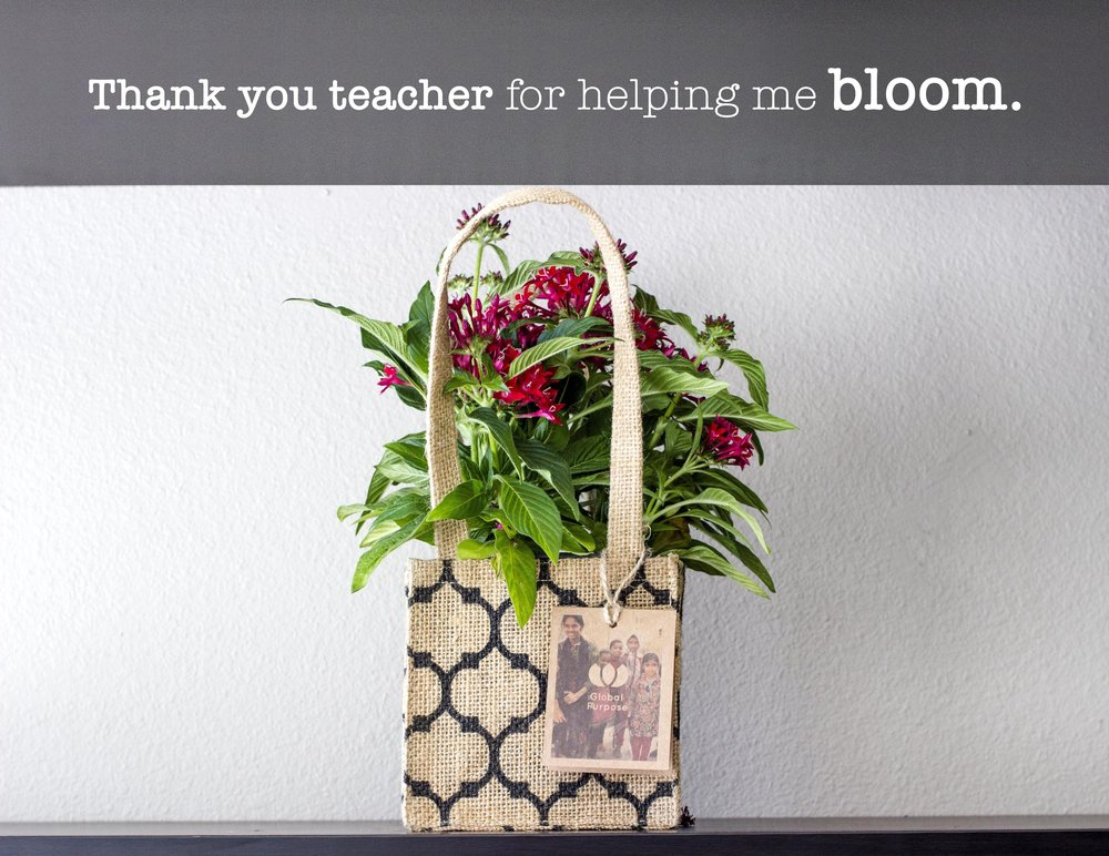 A simple Back to School teacher gift supports 60 clasrooms in Uganda & Haiti.