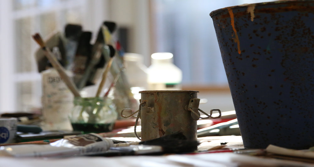 PAINTING WORKSHOPS;Clear a path to painting every day.
