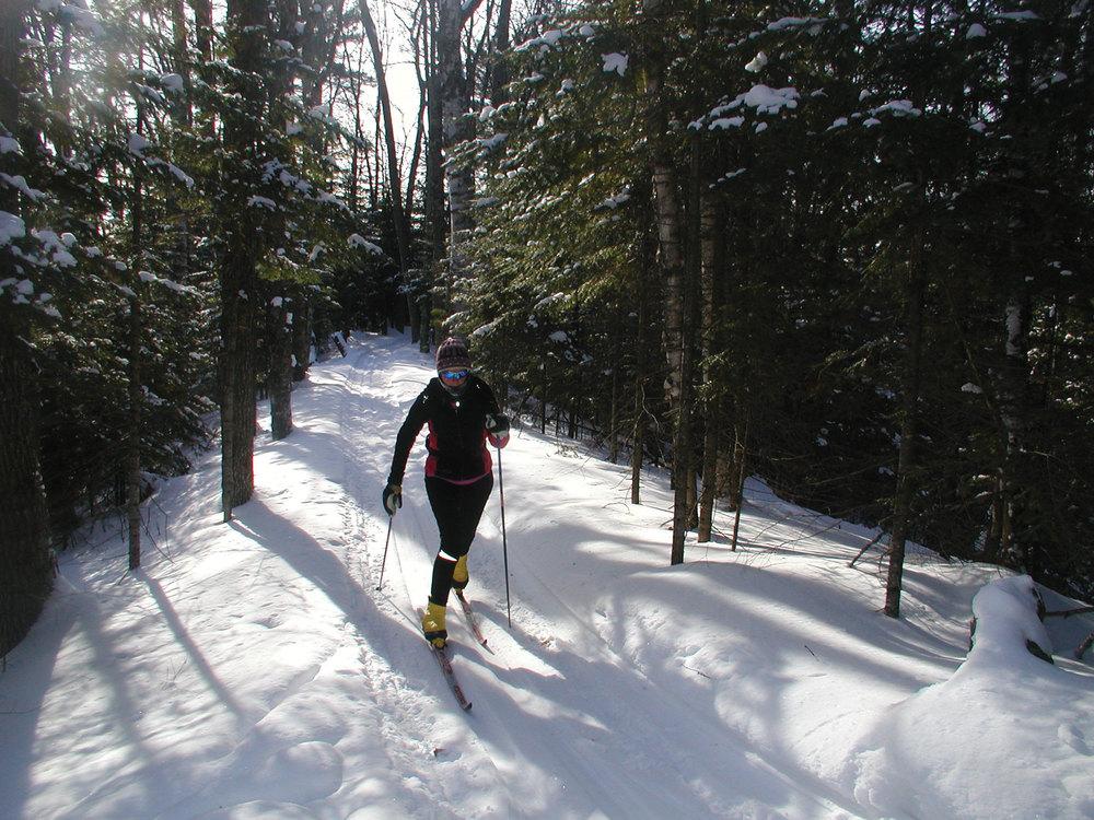 Escanaba Lake Ski Trail