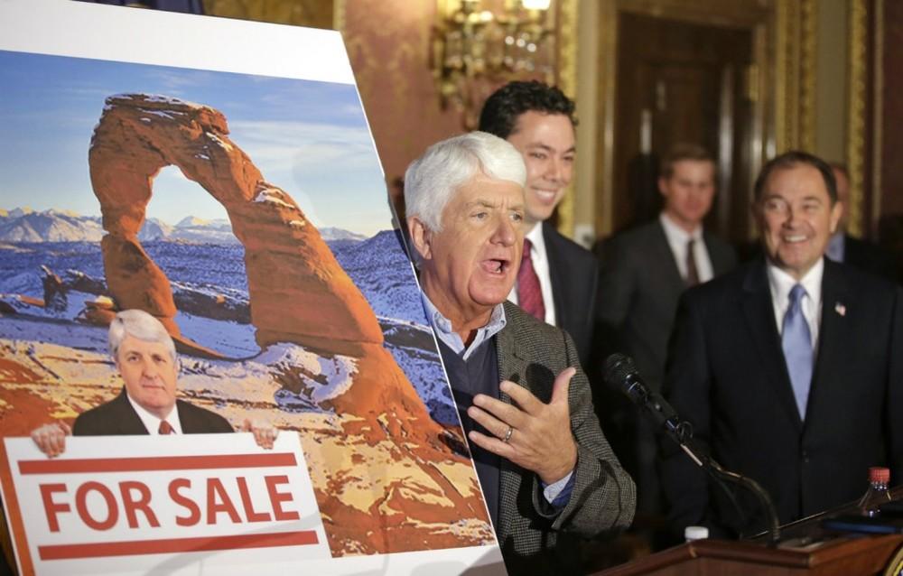 Representative Rob Bishop  Photo Credit: AP Photo/Rick Bowmer