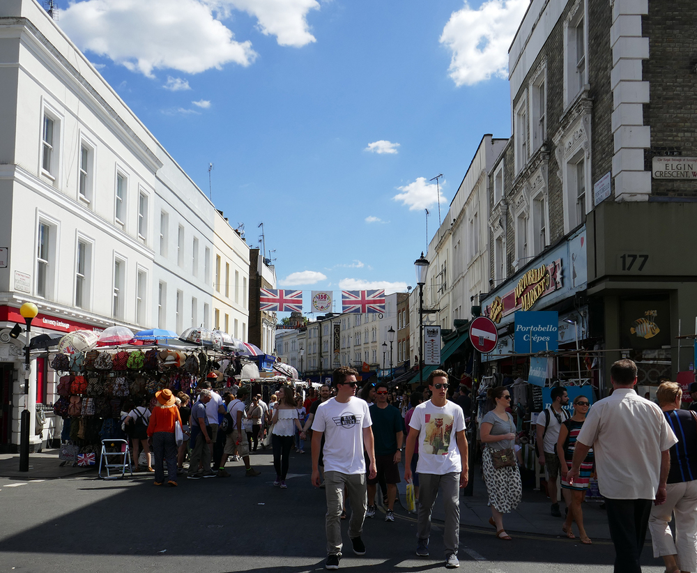 Portobello Market — the only thing holding you back is Fear and ...