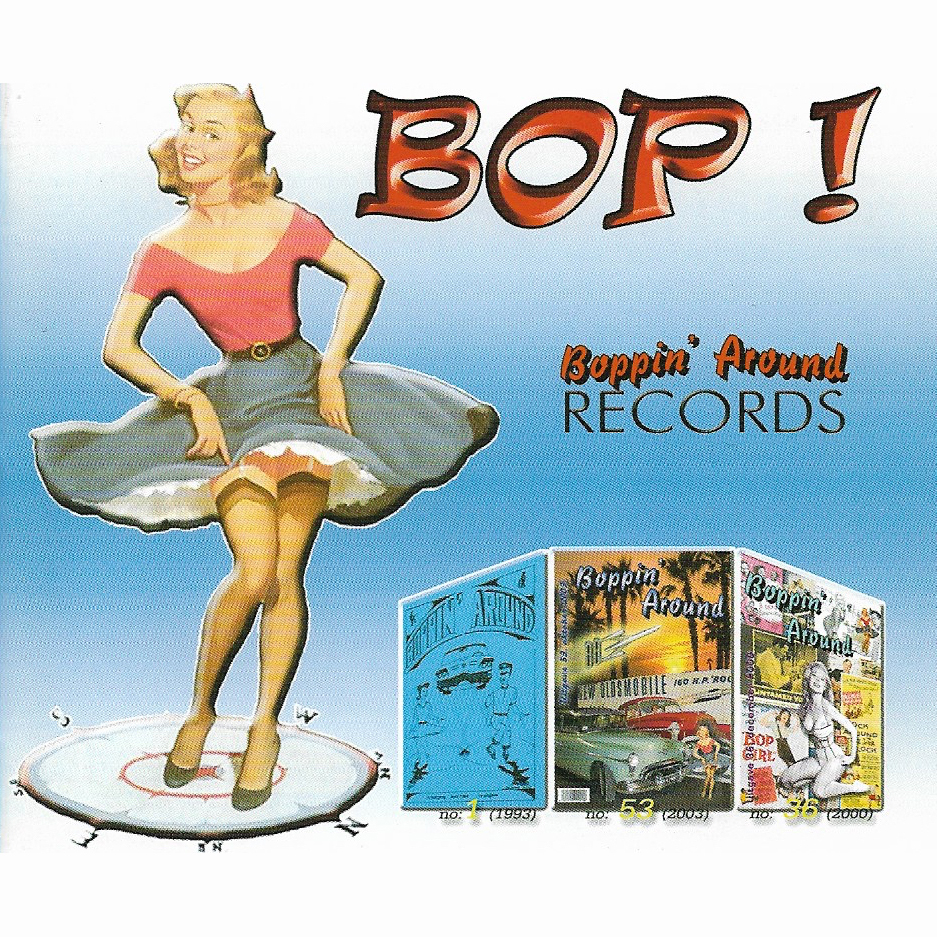 "<p><strong>CD ""Bop!""</strong> Boppin' Around - BOP-CD-001<br> <b>Hètten Dès</b> - ""<i>Hallelujah (Praise The Lord)</i>""<br> <b>Runnin' Wild</b> - ""<i>Everything's Allright</i>""<br> <a>2004</a></p>"