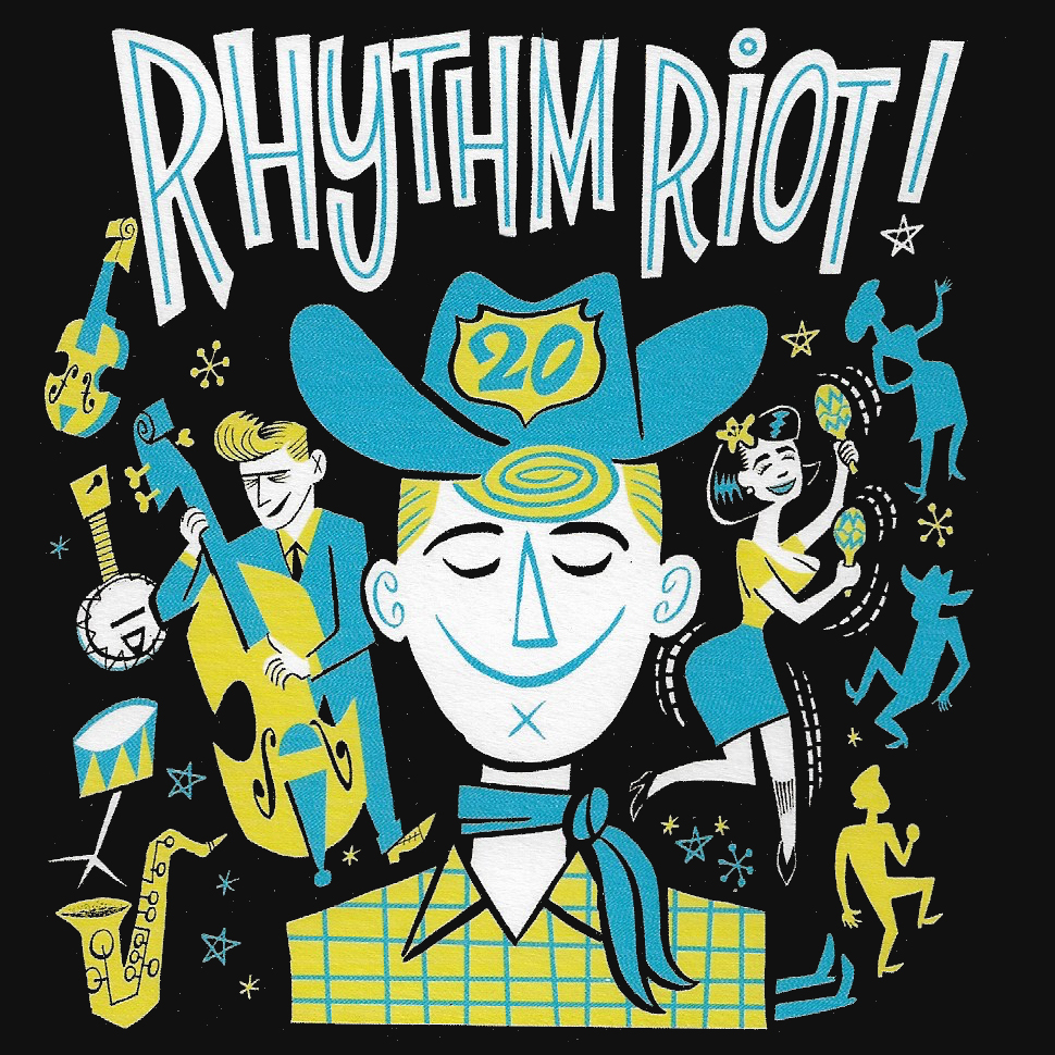 "<p><strong>CD ""20 Years Rhythm Riot""</strong> Rhythm Bomb - RBR 5849<br> <b> Crystal & Runnin' Wild</b> <i>""Mermaid Blues""</i><br> <a>2016</a></p>"