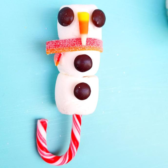 Candy Cane Hot Chocolate Stirrer | Tiny Paper Cuts