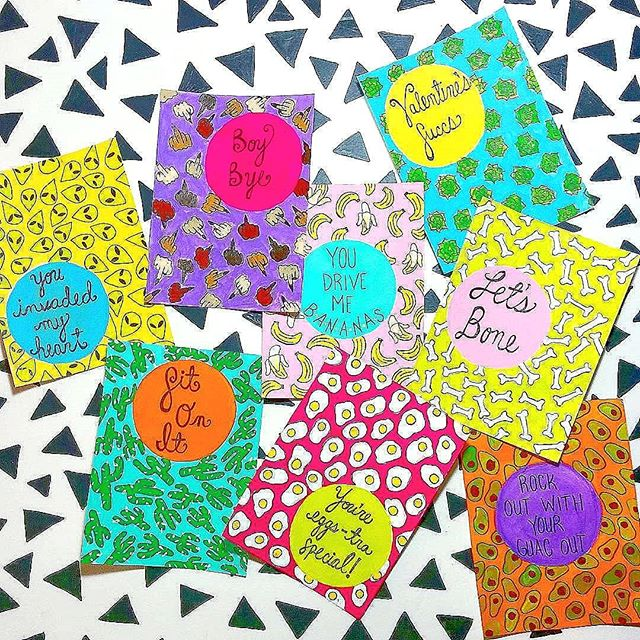 Need some Valentine's cards that really say it all? Download my free printable #ontheblog now! Hand them out at work,  give them to your best friends or your crew at your favorite bar?! 🥑link in bio🥑