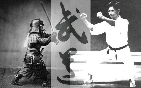 Some might say this was not the wisest defence against a Katana
