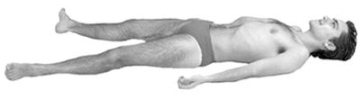 Savasana (Corpse Pose)which I practice for 8 hours every night