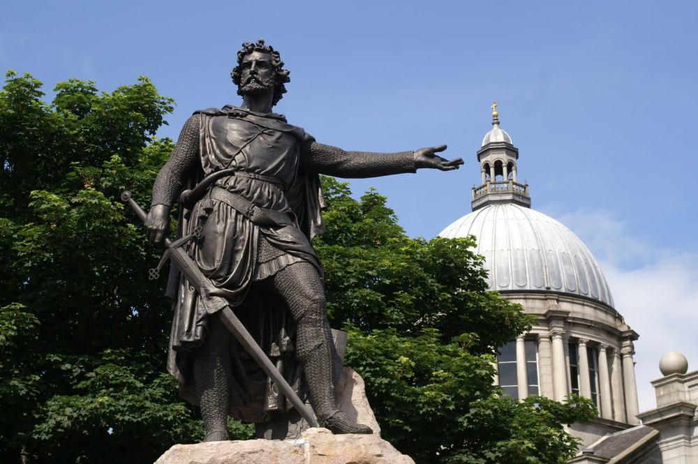 William Wallace - In Aberdeen